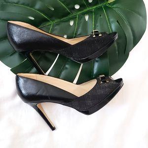 Marc fisher peep toe heels